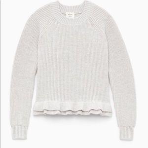Aritzia wilfred jonnie sweater xsmall Gray